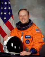 "NASA Astronaut Edward 'Mike' Fincke 8""x10"" Full Colour Portrait"
